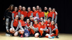 equipo Dance Flow de Hispaocio